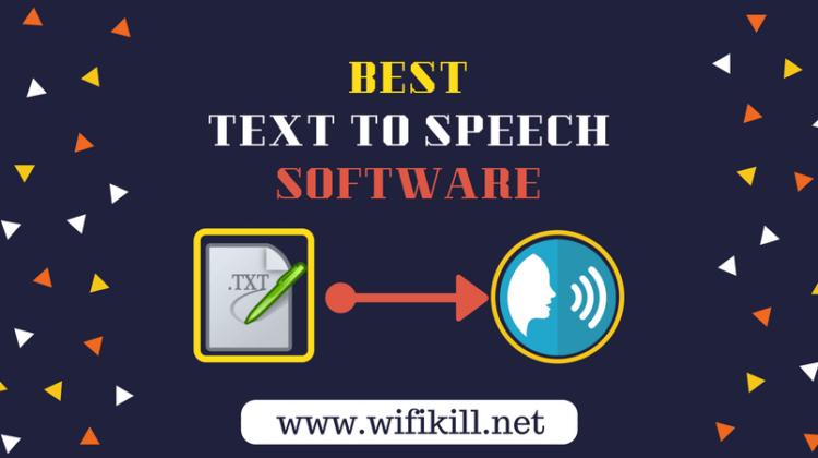 Best Text To Speech Software | Best Speech to Text Software Free [2018]